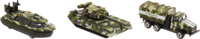 Купить ТехноПарк Набор машинок Военная техника 3 шт SB-14-12