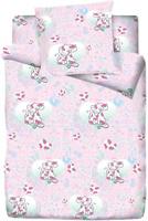 Купить Комплект белья Браво Кидс SWEET , 1, 5-спальное, наволочки 70x70, цвет: розовый