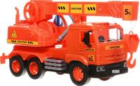Купить ТехноПарк Кран инерционный КамАЗ, Shantou City Daxiang Plastic Toy Products Co., Ltd