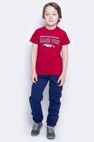 Купить Брюки для мальчика PlayToday, цвет: темно-синий, светло-серый. 171010. Размер 98, Одежда для мальчиков