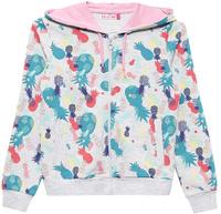 Купить Толстовка для девочки Sela, цвет: серый меланж. Stc-613/919-7234. Размер 134, 9 лет, Одежда для девочек