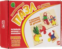Купить Развивающие деревянные игрушки Пазл для малышей Репка 4 в 1, ГК АНДАНТЕ