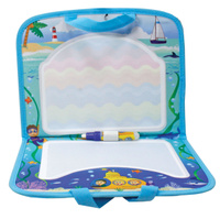 Купить 1TOY Коврик для рисования AquaArt с ручками цвет синий, Solmar Pte Ltd