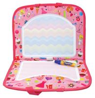 Купить 1TOY Коврик для рисования AquaArt с ручками цвет розовый, Solmar Pte Ltd