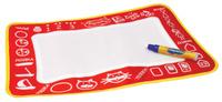 Купить 1TOY Коврик для рисования AquaArt цвет красный, Solmar Pte Ltd