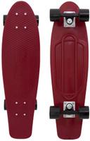 Купить Пенни борд Penny Nickel , цвет: бордовый, черный, дека 69 х 19 см