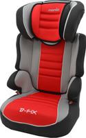 Купить Nania Автокресло Befix SP LX от 15 до 36 кг цвет серый красный