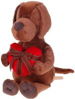 Купить Orange Toys Мягкая игрушка Пес Барбоська с сердцем 30 см 1075929, Сима-ленд, Мягкие игрушки