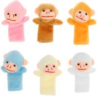 Купить Sima-land Набор пальчиковых игрушек Обезьяна 10 шт, Кукольный театр