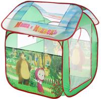 Купить Играем вместе Детская игровая палатка Маша и Медведь 83 х 80 х 105 см, Игровые палатки и домики