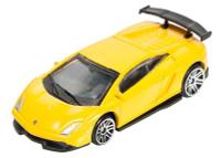 Купить Pitstop Модель автомобиля Lamborghini LP570-4 Super Trofeo Stradale цвет желтый, UNI-FORTUNE TOYS IND