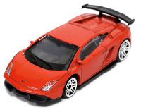 Купить Pitstop Модель автомобиля Lamborghini LP570-4 Super Trofeo Stradale цвет красный, UNI-FORTUNE TOYS IND