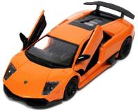 Купить Pitstop Машинка инерционная Lamborghini Murcielago LP670-4 цвет оранжевый, UNI-FORTUNE TOYS IND
