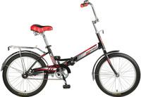 Купить Велосипед детский Novatrack TG-30 Classic , цвет: черный, белый, красный, 20 , Велосипеды
