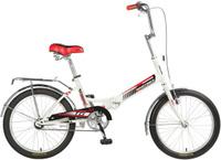 Купить Велосипед детский Novatrack TG-30 Classic , цвет: белый, красный, черный, 20 , Велосипеды