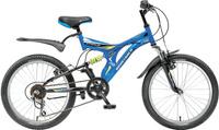 Купить Велосипед детский Novatrack Titanium , цвет: синий, 20 , Велосипеды