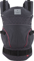 Купить Manduca Слинг-рюкзак Bellybutton BerryDots цвет черный, Рюкзаки, слинги, кенгуру