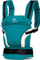 Купить Manduca Слинг-рюкзак First Petrol цвет бирюзовый, Рюкзаки, слинги, кенгуру