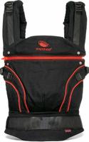 Купить Manduca Слинг-рюкзак BlackLine RadicalRed с накладками, Рюкзаки, слинги, кенгуру