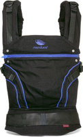 Купить Manduca Слинг-рюкзак BlackLine AbsoluteBlue с накладками, Рюкзаки, слинги, кенгуру