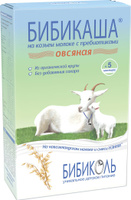 Купить Бибикаша каша овсяная на козьем молоке, с 5 месяцев, 200 г, Детское питание
