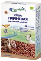 Купить Fleur Alpine Organic каша на козьем молоке гречневая, с 4 месяцев, 200 г, Детское питание