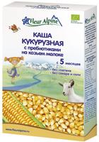 Купить Fleur Alpine Organic каша на козьем молоке кукурузная с пребиотиками, с 5 месяцев, 200 г, Детское питание