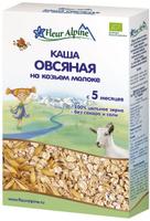 Купить Fleur Alpine Organic каша на козьем молоке овсяная, с 5 месяцев, 200 г, Детское питание