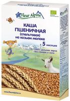 Купить Fleur Alpine Organic каша на козьем молоке пшеничная (спельтовая), с 5 месяцев, 200 г, Детское питание