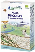 Купить Fleur Alpine Organic каша на козьем молоке рисовая, с 4 месяцев, 200 г, Детское питание
