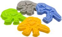 Купить Happy Baby Набор формочек для песка Dinosaurs, Игрушки для песочницы