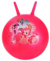 Купить Играем вместе Мяч My Little Pony с рожками цвет розовый 45 см, Мячи и шары