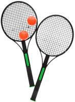 Купить Набор для игры в теннис King Sport , цвет: зеленый, черный, оранжевый, 4 предмета, Спортивные игры