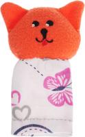 Купить Наивный мир Кукла пальчиковая Кошка Мурка цвет оранжевый