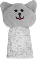 Купить Наивный мир Кукла пальчиковая Кошка Мурка цвет серый