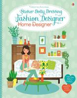 Купить Sticker Dolly Dressing Fashion Designer Home Designer, Книжки с наклейками
