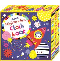 Купить Baby's very first Cloth book (Blue), Первые книжки малышей