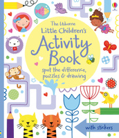 Купить Little Children's Activity Book spot the difference, puzzles and drawing, Кроссворды, головоломки