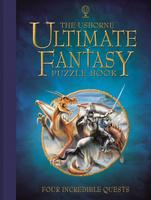 Купить Usborne Ultimate Fantasy Puzzle Book, Кроссворды, головоломки