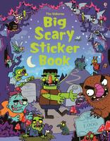 Купить Big Scary Sticker book, Книжки с наклейками