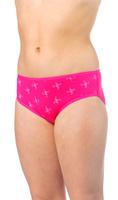 Купить Трусы для девочки Lowry, цвет: светло-розовый, розовый, 2 шт. GP-283. Размер XL (134/140), Одежда для девочек