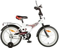 Купить Велосипед детский Novatrack Turbo , цвет: белый, черный 20 , Велосипеды