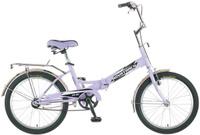 Купить Велосипед детский Novatrack FS-30 , цвет: розовый, белый, черный, 20 , Велосипеды