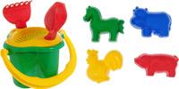 Купить Hemar Набор для песочницы 8 предметов П-0833, Игрушки для песочницы