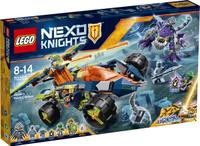 Купить LEGO NEXO KNIGHTS Конструктор Вездеход Аарона 4x4 70355, Конструкторы