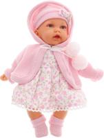 Купить Кукла Antonio Juan Азалия , озвученная, цвет: розовый, 27 см, Juan Antonio