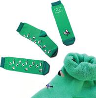 Купить Носки детские Big Bang Socks, цвет: зеленый. ca1413. Размер 30/34, Одежда для девочек