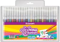 Купить Luxor Набор фломастеров Coloring 24 цвета, Фломастеры