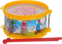 Купить Ami&Co Музыкальный инструмент Барабан цвет желтый, Veld-Co, Музыкальные инструменты