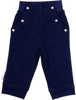 Купить Брюки для мальчика Lucky Child Лазурный берег, цвет: темно-синий. 28-11М. Размер 122/128, Одежда для мальчиков